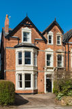 Old british building. Typical british residential building Royalty Free Stock Photography