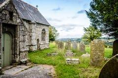 Old British graveyard II - Mabe, Cornwall Stock Photo