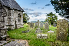 Old British graveyard III - Mabe, Cornwall Royalty Free Stock Photography