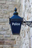 Old British Police Blue Lamp Royalty Free Stock Photography