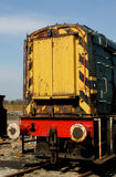 Old british railways shunter detail Stock Photo