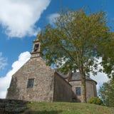 Old Britton church Royalty Free Stock Photo