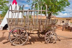 Antique stage coach stock photography