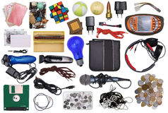 Old broken boy toys Royalty Free Stock Photography