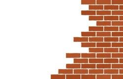 Old broken brick wall Royalty Free Stock Photos