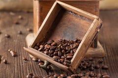 Old broken coffee grinder Stock Photo