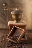 Old broken coffee grinder Royalty Free Stock Images