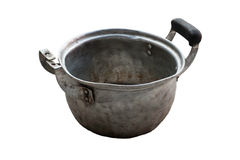Old and broken cooking pot Royalty Free Stock Image