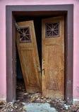 Old broken doors Stock Images