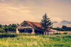 Old broken farm Royalty Free Stock Photography