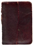 Old broken leather book texture stock image