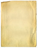 Old Broken Paper Texture. Scanned in high resolution for extreme detail Royalty Free Stock Photos