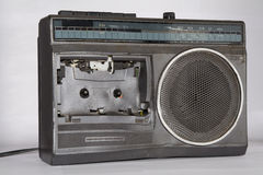 Old broken radio Stock Photography