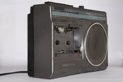 Old broken radio Stock Image