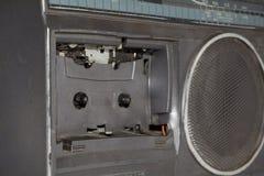 Old broken radio Stock Photos