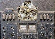 Old broken reel tape recorder Stock Images