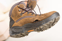 Old broken shoe Stock Photography