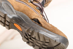 Old broken shoe Royalty Free Stock Image