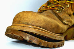 Old broken shoe Royalty Free Stock Image