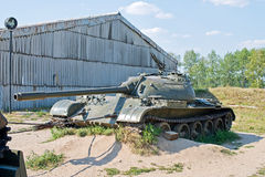 Old broken tank Royalty Free Stock Photography