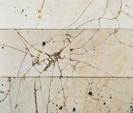 Old broken tiles Stock Photography