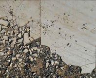 Old broken tiles Stock Photos