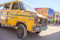 Old broken truck. stock photos
