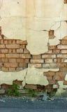 Old broken wall, brickwork Royalty Free Stock Photography