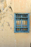 Old broken wall with window Royalty Free Stock Image
