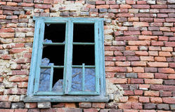 Old broken window Royalty Free Stock Photography
