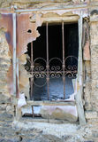 Old broken window. Picture of  a Old broken window Stock Image