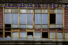 Old broken windows Royalty Free Stock Photography