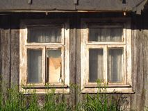 Old broken windows Stock Photos