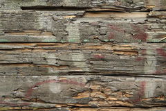 Old broken wooden planks  background Stock Photography