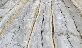 Old broken wooden wall Stock Image