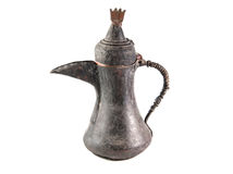 Old bronze coffee pitcher. Of the Ottoman Empire Stock Photos