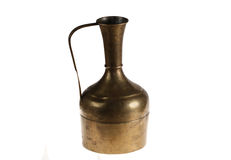 Old bronze jug Stock Images
