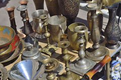Old bronze manufacture Stock Images