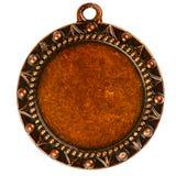 Old bronze medal Stock Image