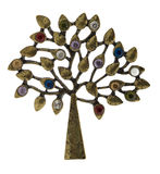 Old brooch Royalty Free Stock Photos