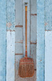 The Old broom Stock Photography