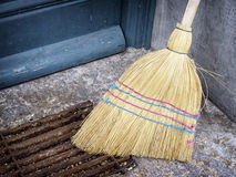 Old broom Stock Photography