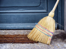 Old broom Royalty Free Stock Image
