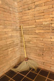 Old  broom Royalty Free Stock Images