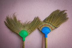 Old broom Royalty Free Stock Photo