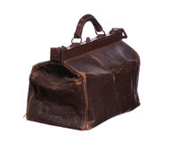 Old brown bag Stock Photo
