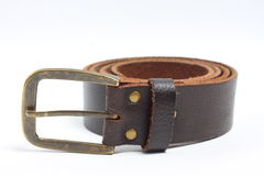Old brown belt Stock Image