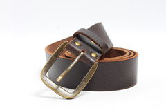 Old brown belt Stock Photos
