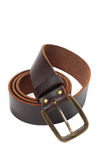 Old brown belt Royalty Free Stock Photo