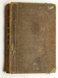 Old brown book stock photography